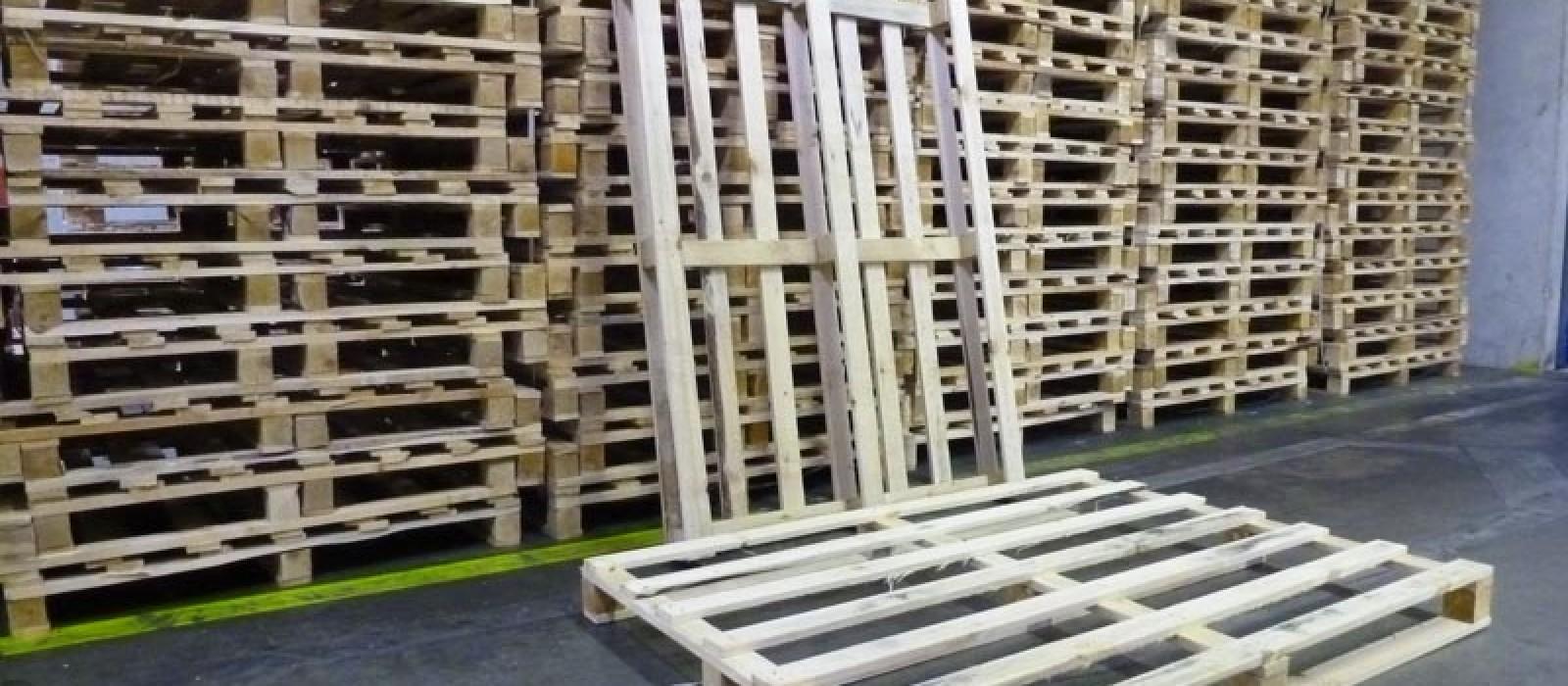 4 Wege Holzpalette Logpol