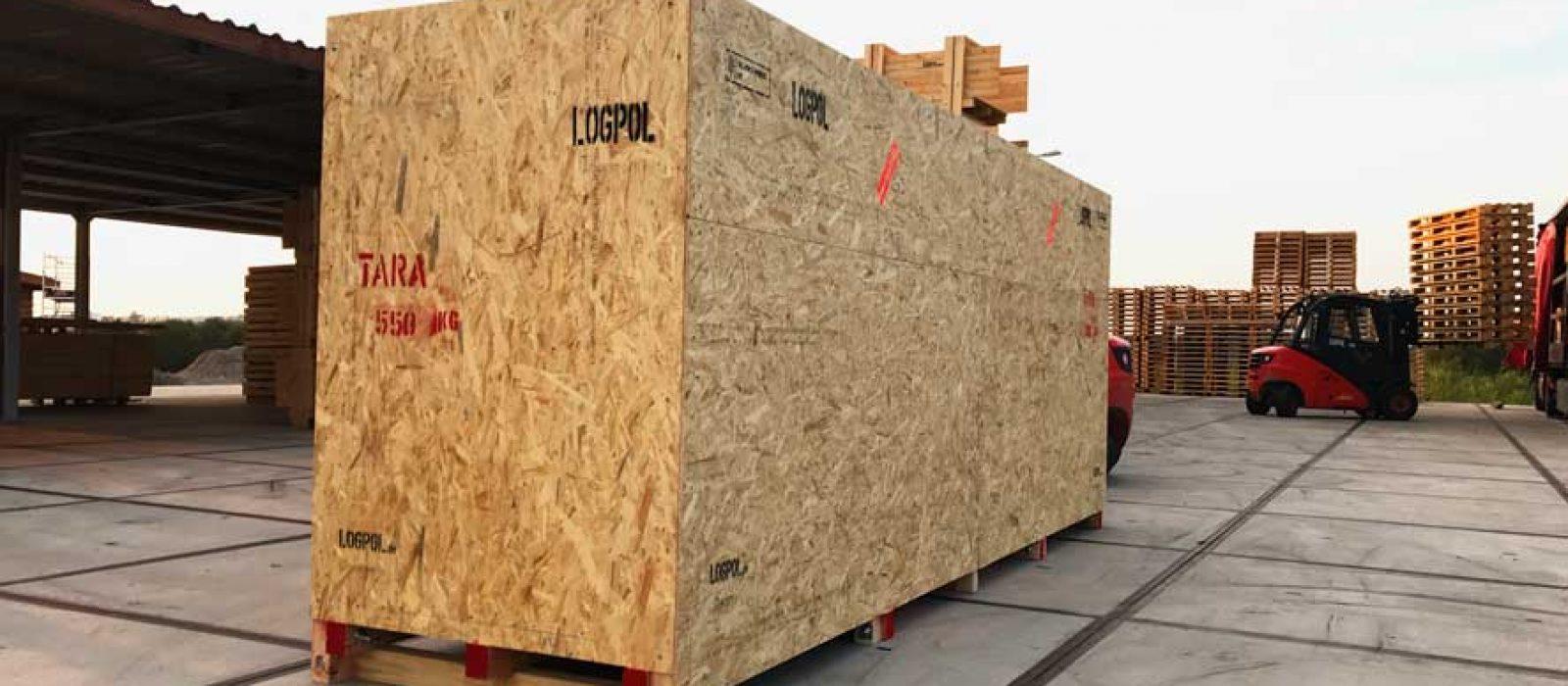 LOGPOL-Holzkisten-Sonderbau