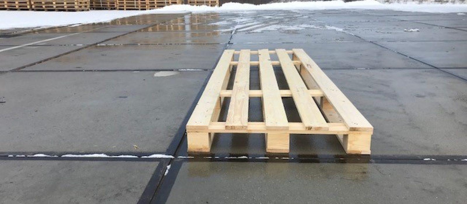 Holzpalette 2400x1000mm-Paletten NRW
