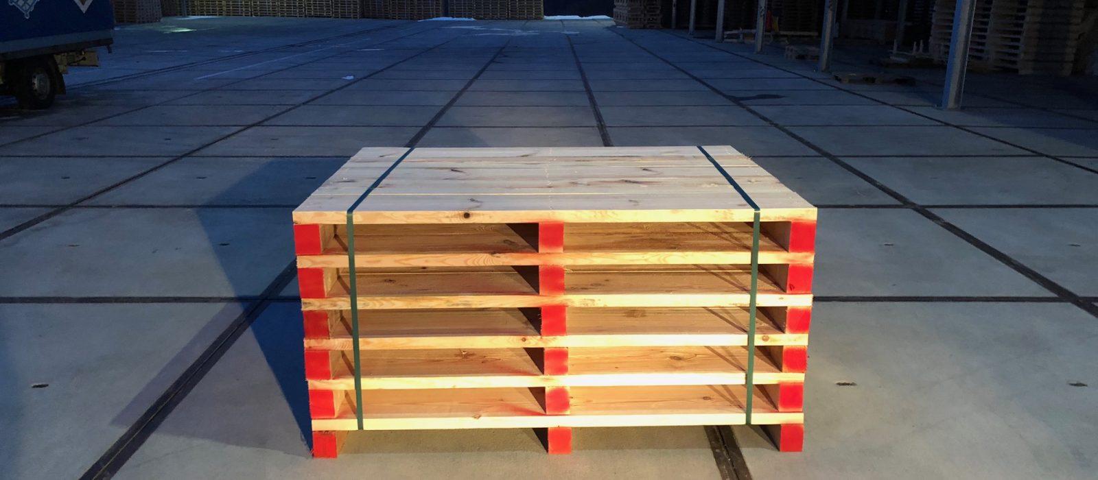 Holzpalette LOGPOL – individuelle Transportpaletten