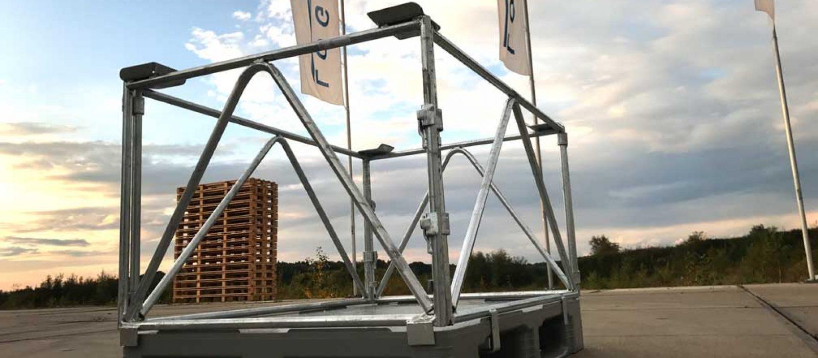 Aufsatzrahmen-1200×800-für-Kunststoffpalette-(2)