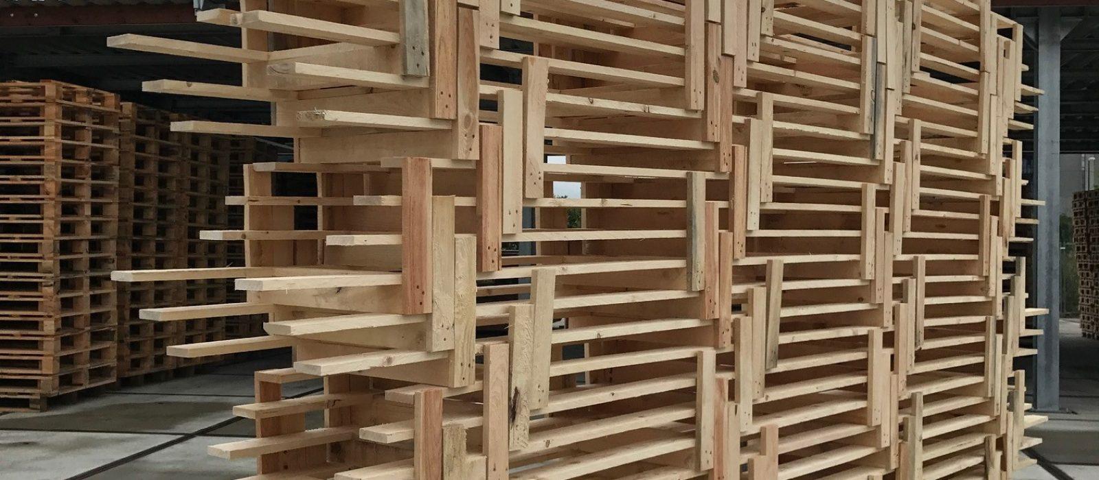 Holz-Langgutpalette 5400mm
